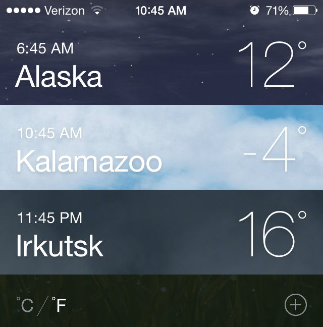 #Brrrr. Colder in Kalamazoo than in Alaska and Siberia... http://t.co/dSPSbuyQXk