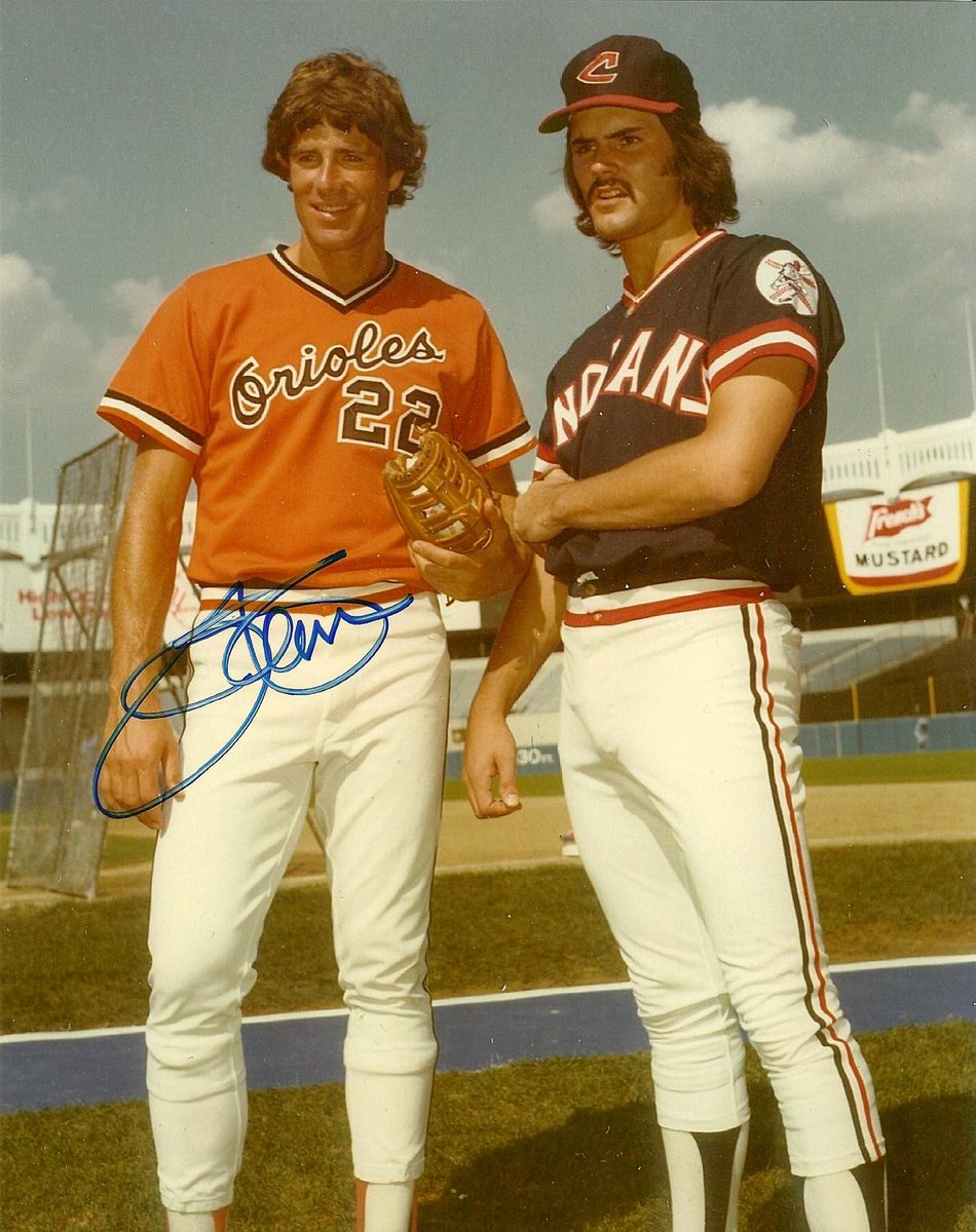 """Dennis Eckersley on Twitter: """"@Jim22Palmer and me at the 1977 All ..."""