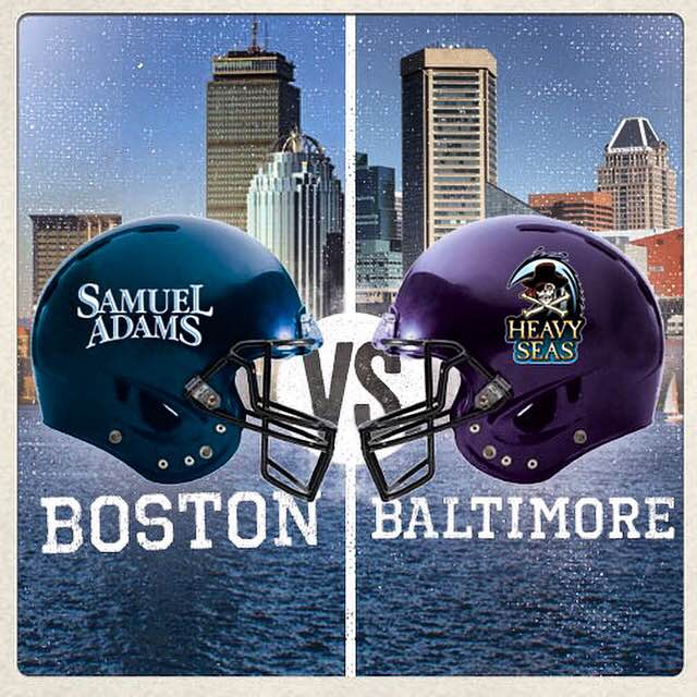 Game on! Hugh has agreed to a friendly brewers wager with Jim Koch/@SamuelAdamsBeer for this weekend's #BalVsNE game! http://t.co/qSRNk5DLpF