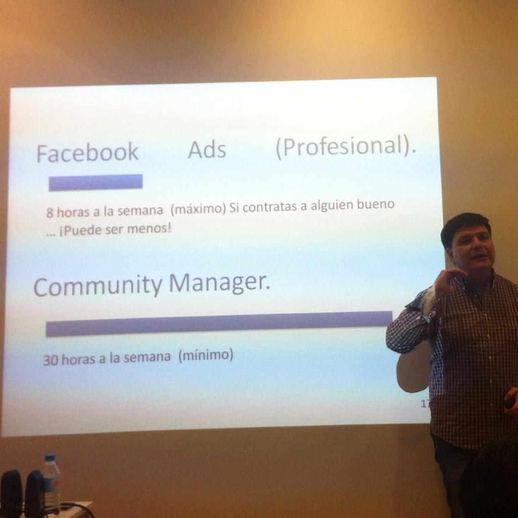 La conclusión es que hay que usar #Fcbk Ads @Davidsolediesel @jaumecolillas by @SeniorManager en #fb2015 http://t.co/xZpZzyj6Nx
