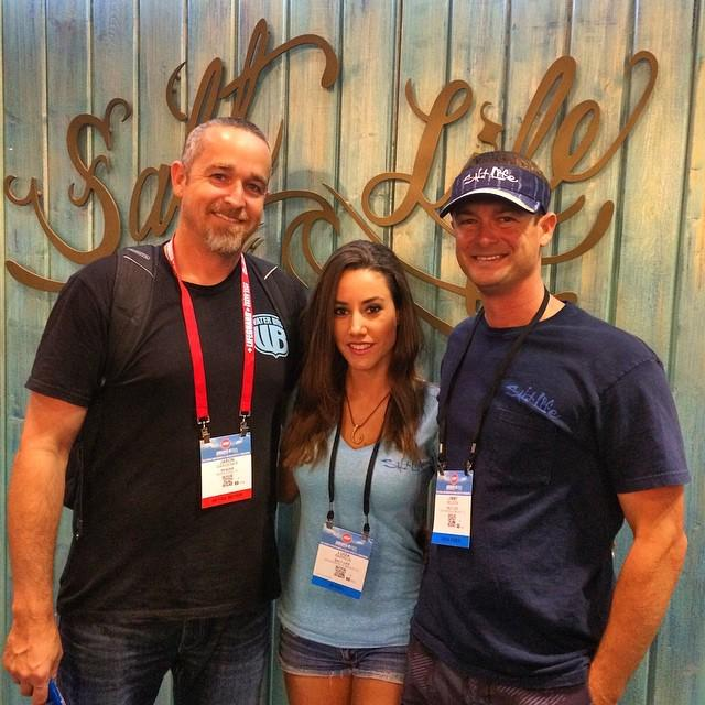 SeaDek Marine Products ICAST 2019 Fishing With Luiza Jimmy Nelson Jason Gardner