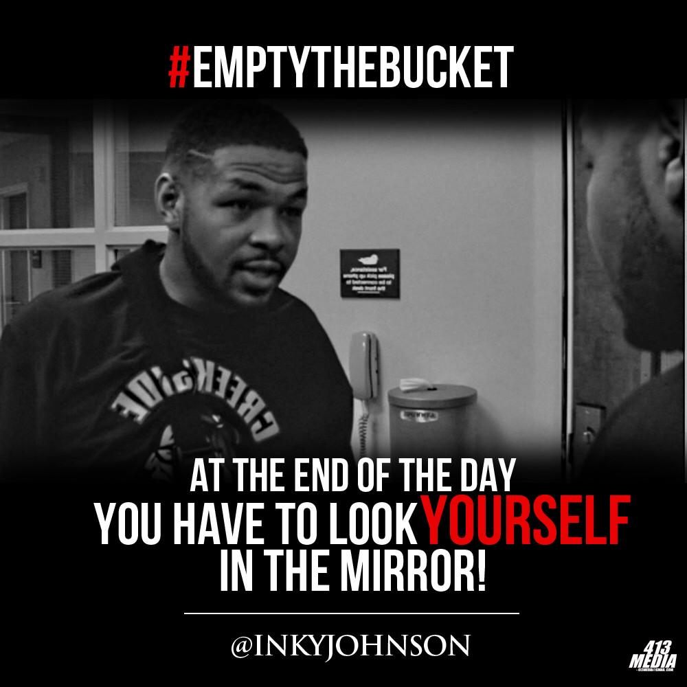 Inky Johnson On Twitter At The End Of The Day You Have To Look