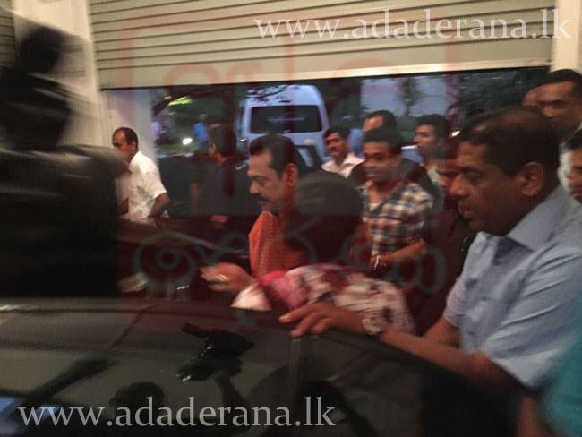 Still can't believe it! | President Rajapaksa leaves Temple Trees, via @adaderana #PresPollSL #lka #srilanka http://t.co/lSQU8Ol3Qs