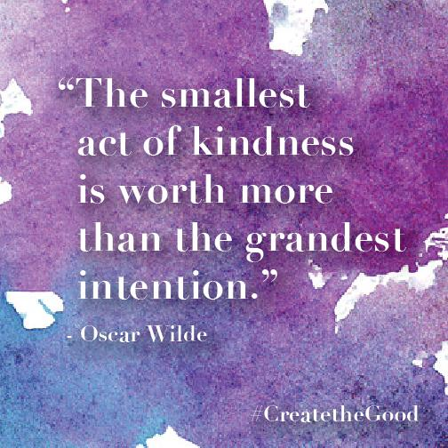 A great reminder to get out and #CreatetheGood in ways big and small!  http://t.co/ycRqwFp4kD http://t.co/9pqjmGOcXq