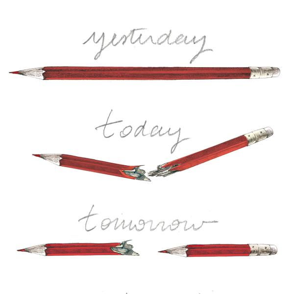 That now famous broken pencil image by #banksy is actually not by him, but illustrator @LucilleClerc #JeSuisCharlie http://t.co/3cn9K3HwOk