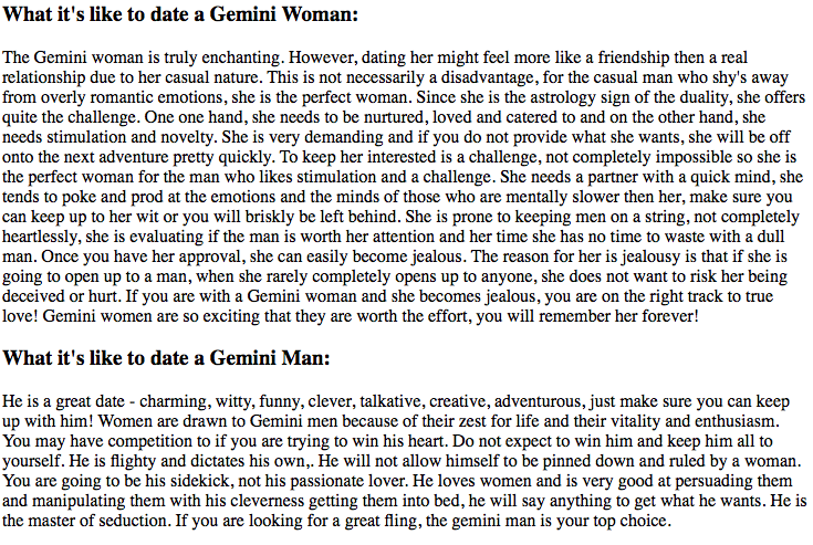 A What Woman Gemini Dating Like Its