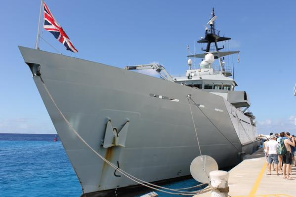 Thumbnail for HMS Severn deployment to the Caribbean