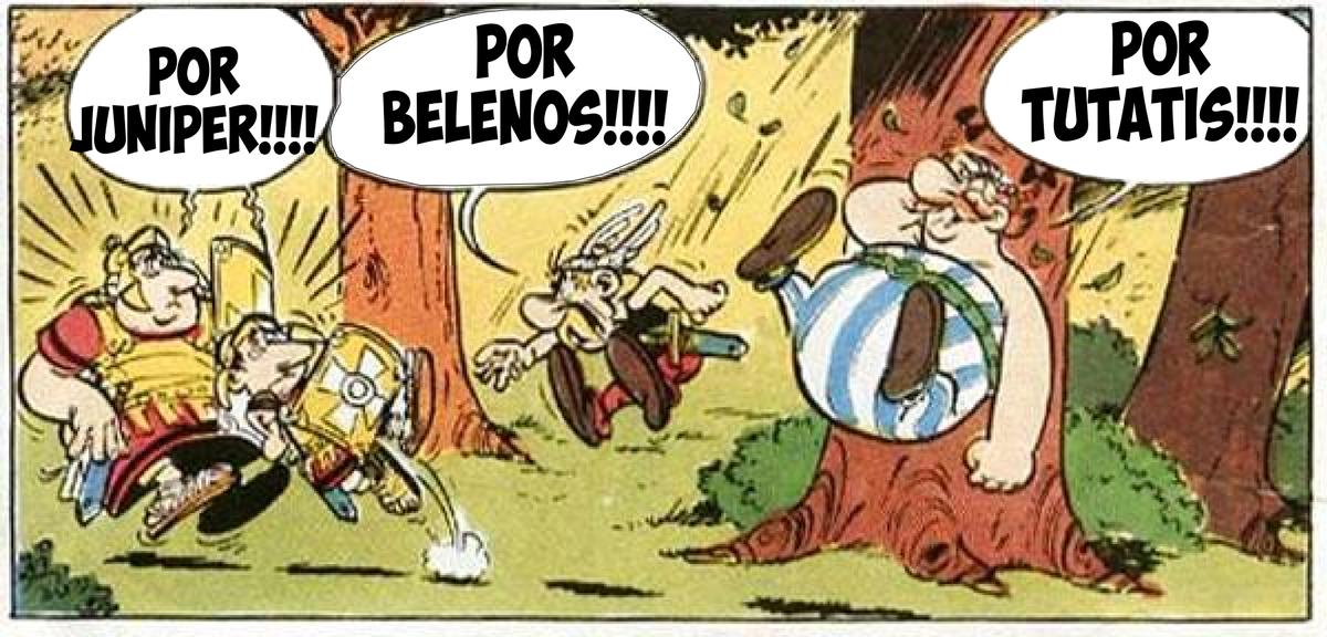 Resultado de imagen para asterix tutatis