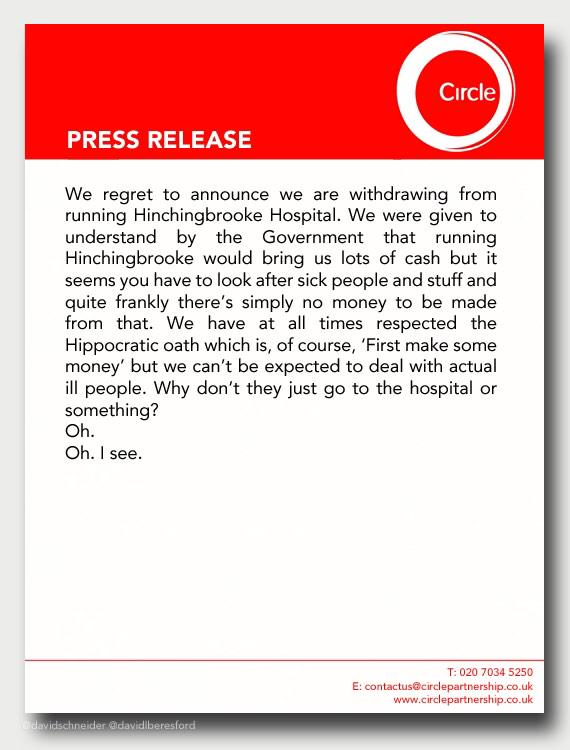 The press release from Circle about Hinchingbrooke Hospital in full. http://t.co/ixuLES2x0Y