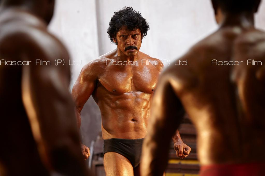Chiyaan vikram fans on twitter exclusive pic 7 of mersal exclusive pic 7 of mersal lingesan chiyaan vikram in sixpack i will see you on jan14 imoviepicitterlsuizuipxr altavistaventures Choice Image