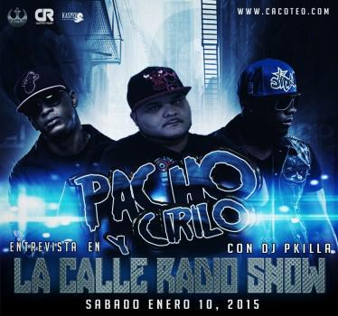 Este Sabado Pacho & Cirilo @CiriloyPacho Live Con @DJPKiLLa este Sabado de 6PM a 8PM http://t.co/Kt2STdnqqO #Cacoteo http://t.co/FqirTP9Bzw