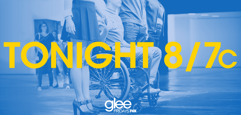 TONIGHT! 2 hours. #glee. Need we say more? #GleePremiere http://t.co/juGLSAs1Zd