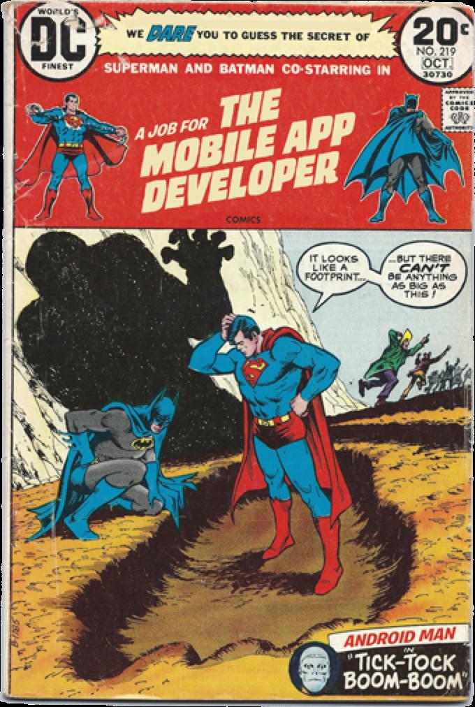 Me encantan los carteles de las ofertas de empleo de http://t.co/YNqsSpKyvp. Los desarrolladores somos superhéroes! http://t.co/V1F5GecGI4