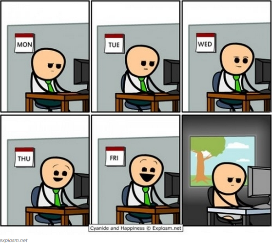 A visualization of a #developer's week http://t.co/1bgROh3QXZ