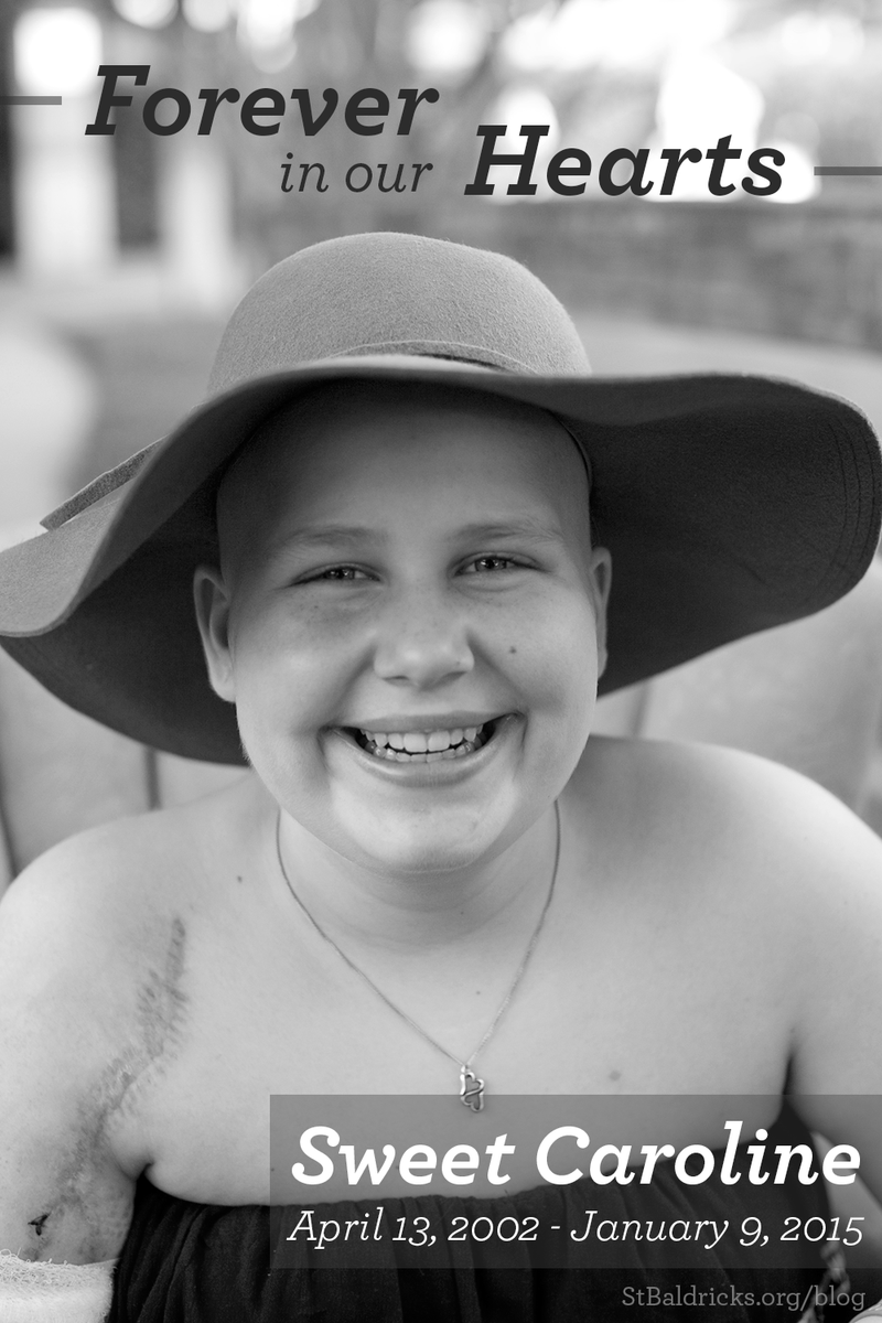 They called her Caro. We will carry on the fight for all #kidswithcancer just like you, sweet girl. #RIPCaroline http://t.co/R9TcUPkFhW