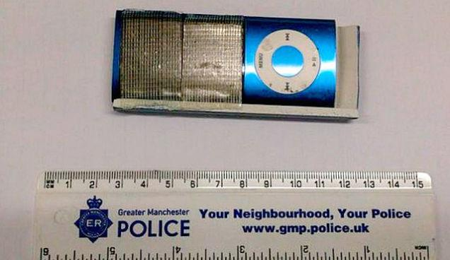 Idiot thieves stole PINs with a iPod Nano covered in duct tape