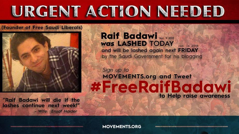 Press Release: Raif Badawi - http://t.co/QIUWYgfsQy http://t.co/SifB56etQh