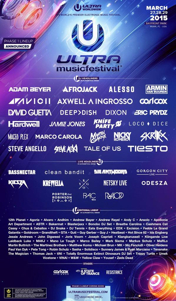 Call that a lineup? THIS...is a lineup. @ultra http://t.co/rizlyate40