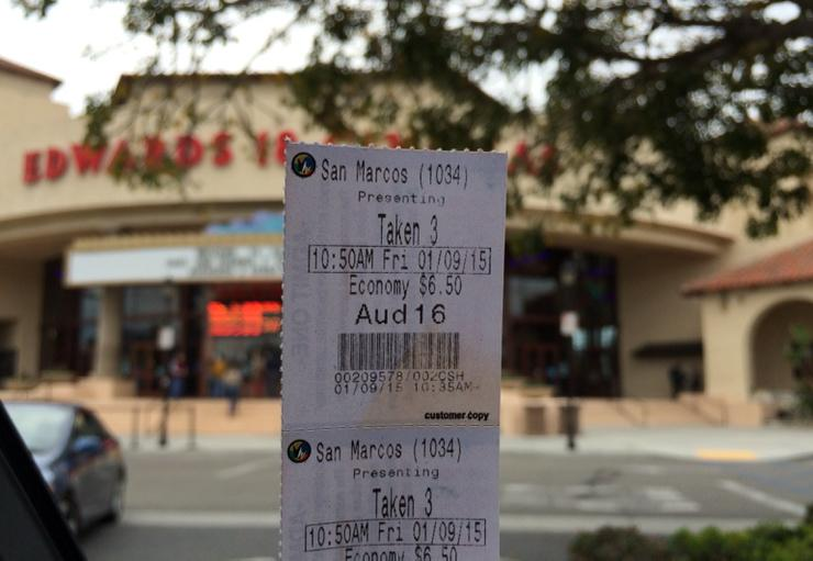 I saw Tak3n @RegalMovies in San Marcos this morning. Awesome movie. #Tak3nAtRegal http://t.co/fuRKWOiidE