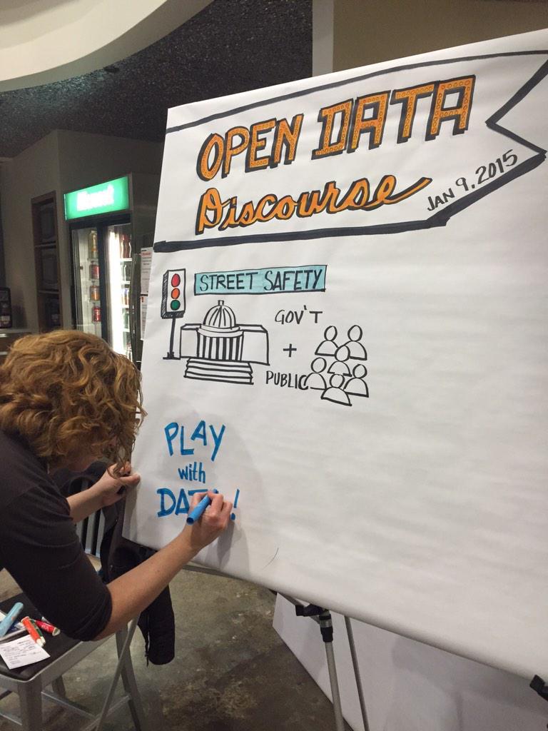 Artist @tamraconteur graphic scribing #ODDevents http://t.co/XUTQYAX1x8