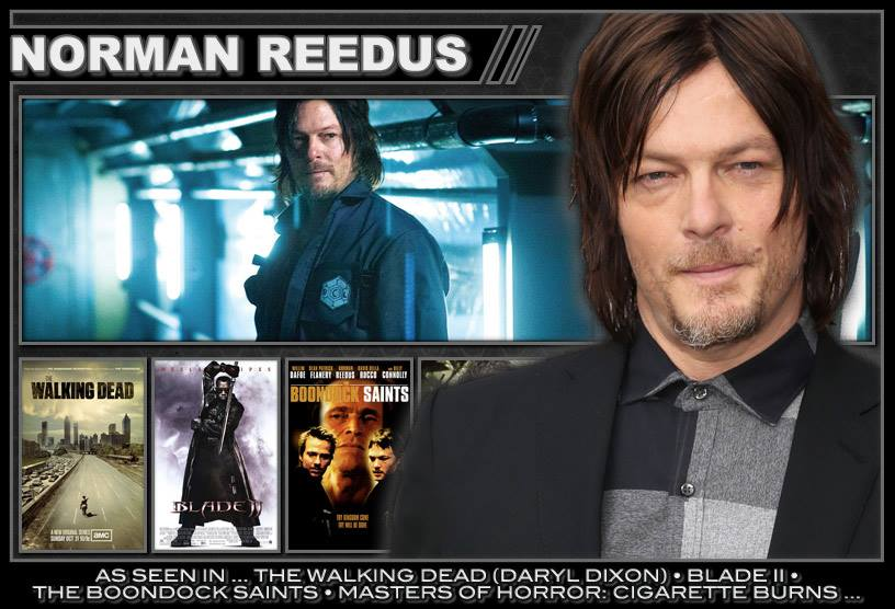 NORMAN REEDUS has been officially confirmed for HorrorHound Weekend March 20-22nd in Cincinnati, Ohio! *Sat/Sun Only* http://t.co/FM25195Sz2