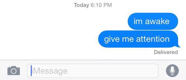 Dating me is like im awake