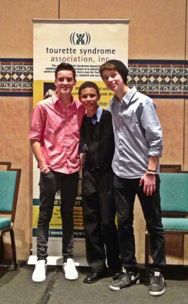 Met these cool cats @brady_brothers tonight at the @TEAM_TSA dinner! Can't wait to catch back up! #Inspire #Tourette http://t.co/7kwn8V5Y8H