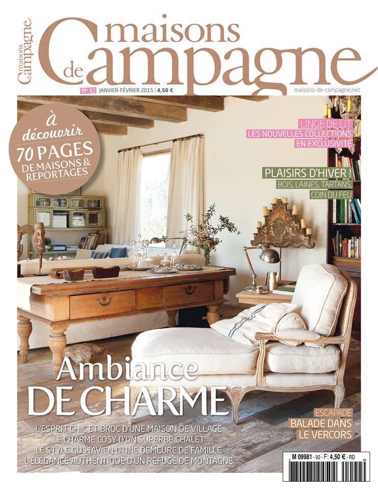 Linge De Maison Style Campagne. Chalet Dcoration Dcoration ...