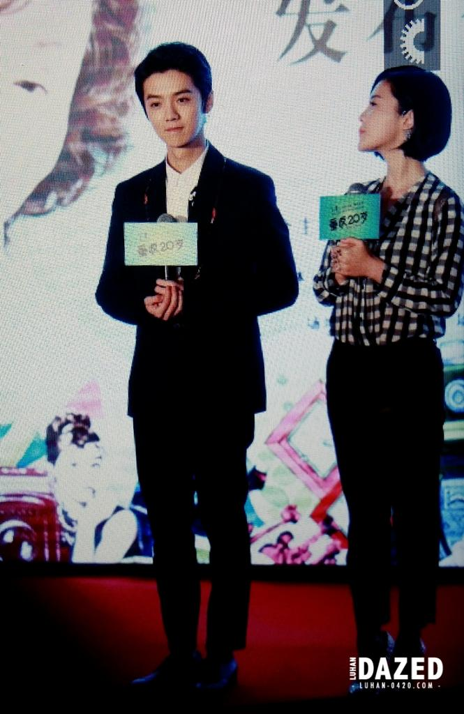 """[PREVIEW] 141229 'Back to 20 (Miss Granny)"""" Press Conference @ Shanghai [63P] B6A65KBCUAMB4q-"""