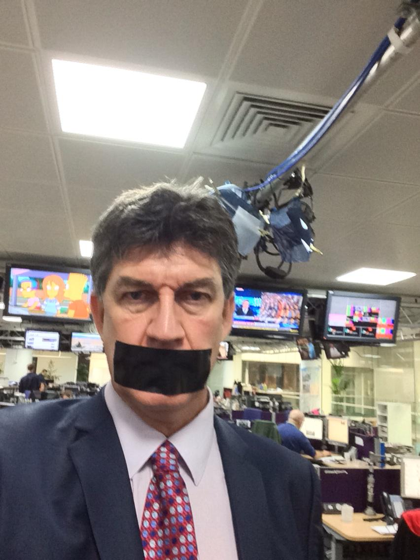 C4 newsroom today - being a year now that they've been in prison. Demo at noon. #FreeAJStaff http://t.co/1TanLkgWEk