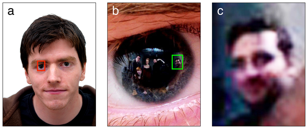 Wow :) RT @rowhoop: Very Blade Runner, this: extracting images from corneal reflections http://t.co/koET7MSK8p http://t.co/tdzd7kZy0J