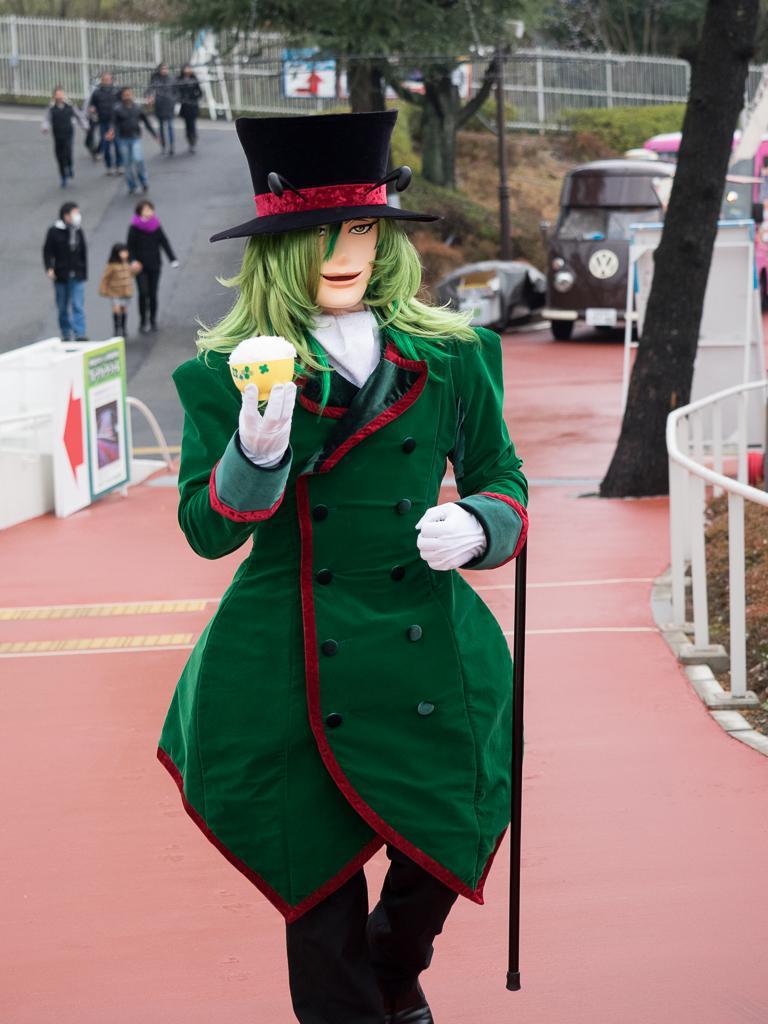ナマケルダさんがお茶碗持って歩いてきて、どう対応したらいいのか困った http://t.co/B2Z0ebbW8J