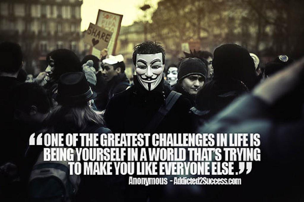 Anonymous On Twitter Anonymous Movements Quotes For You To Save