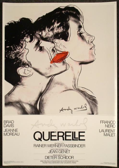 Querelle   Gay Themed Movie Posters Vintage Cinema