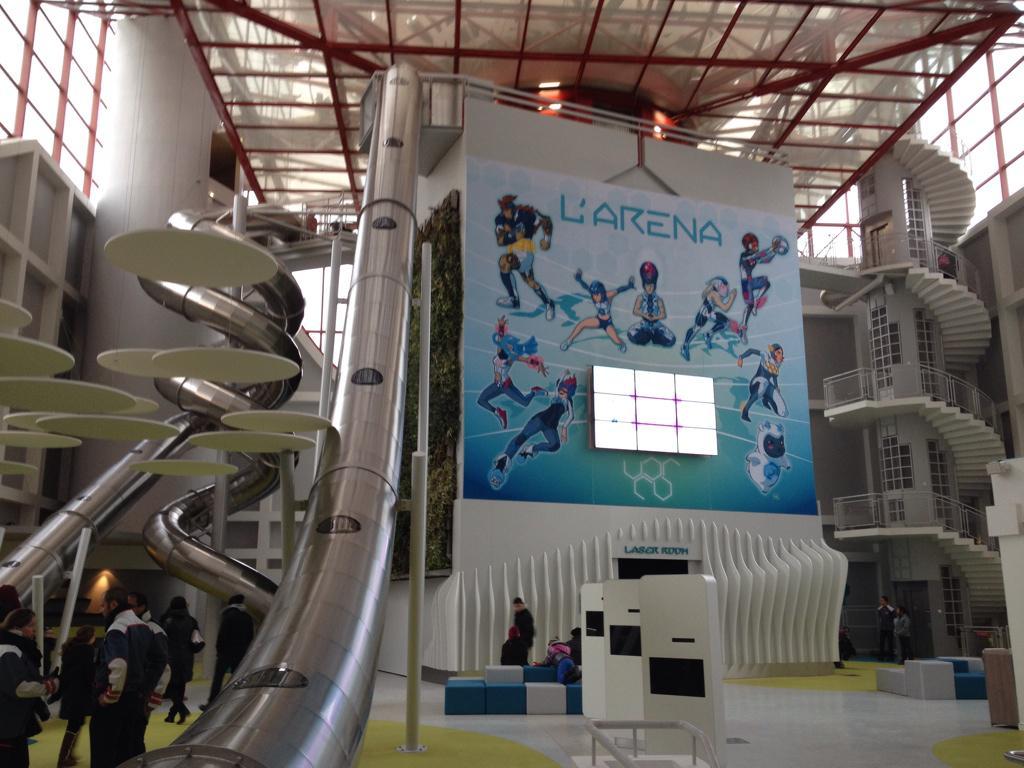 L'Arena Fun Xperiences (Pavillon du Futuroscope) · Février 2015 - Page 4 B6CBYdoIcAAhhtT