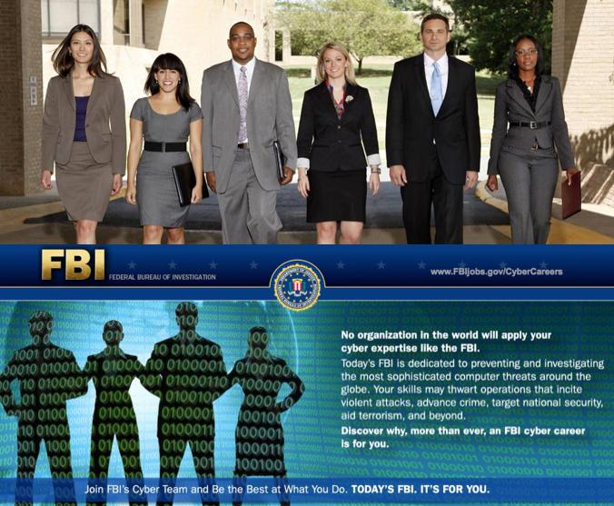 FBI - Magazine cover
