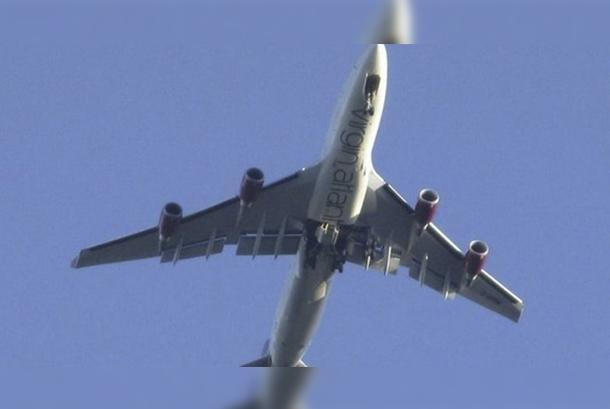 Aterrizaje de emergencia Boeing 747 hace media hora