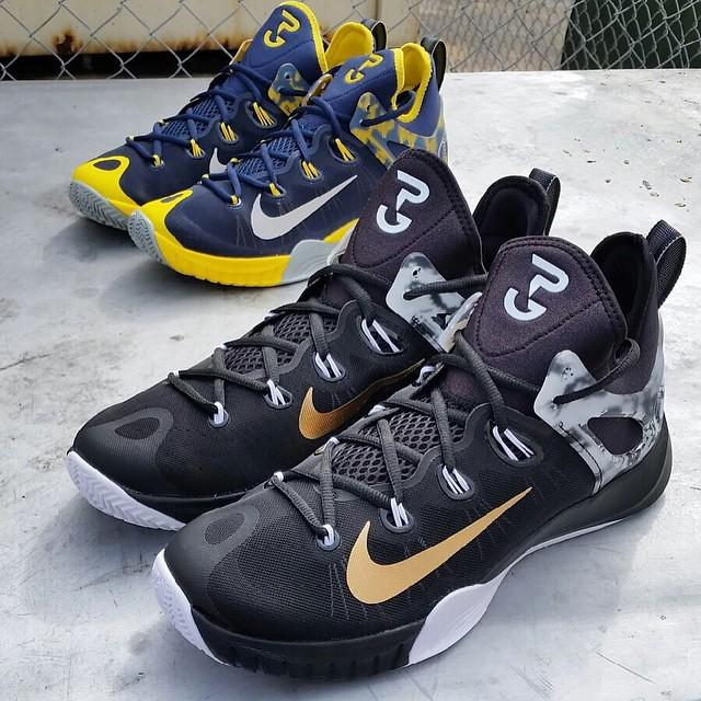 new styles 5cd4c d566a RT  FinishLine  Paul George PE Nike Zoom HyperRev 2015s available  http   finl.co QckJ pic.twitter.com aepOxAMmpJ