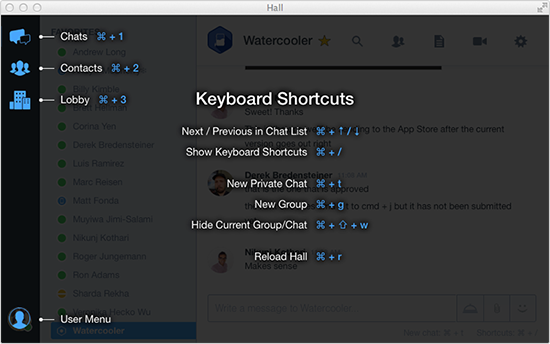 Keyboard shortcuts on Hall for Desktop & Web make work communication quick and easy! http://t.co/xTwhcppHdn http://t.co/eH0zHahaoM