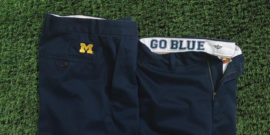 Don't worry Sarah #Harbaugh, we make Dockers for Wolverines too. #StopDadPants #GoBlue http://t.co/Vs7sBagy9w