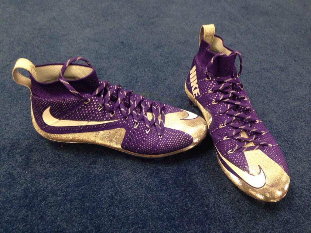 eebded97c82c9 kids jordan cheap Purple And Gold Nike Vapor Untouchables