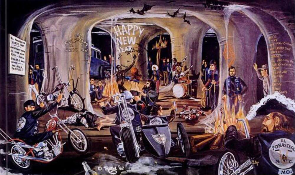 harley davidson on twitter in case you wanted to know what a party cave is according to david mann here it ishappy new year httptcofa5k0mihl3