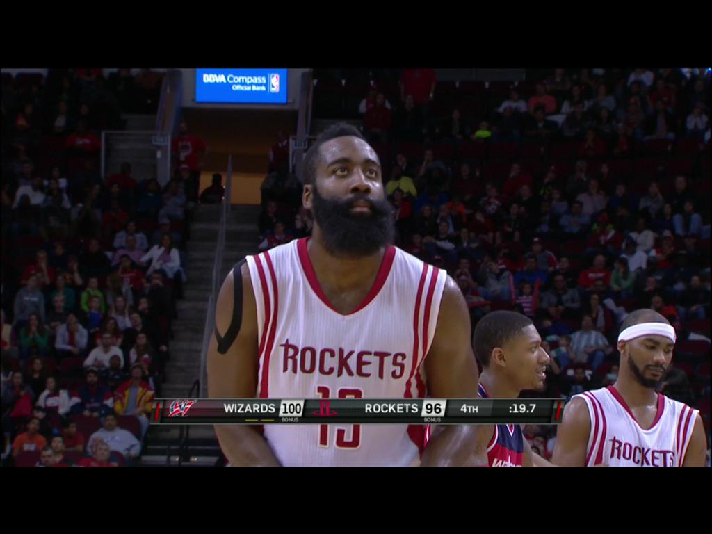 270427b7223 James Harden is using KT tape on his right shoulder. Would be interested to  hear why.pic.twitter.com VlYrgiaVh4
