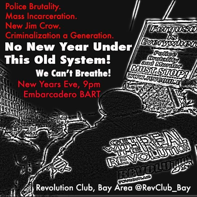 Rock in the New Year With Resistance to Police Murder! SF Rally. @ Embarcadero BART Station Plaza | San Francisco | California | United States