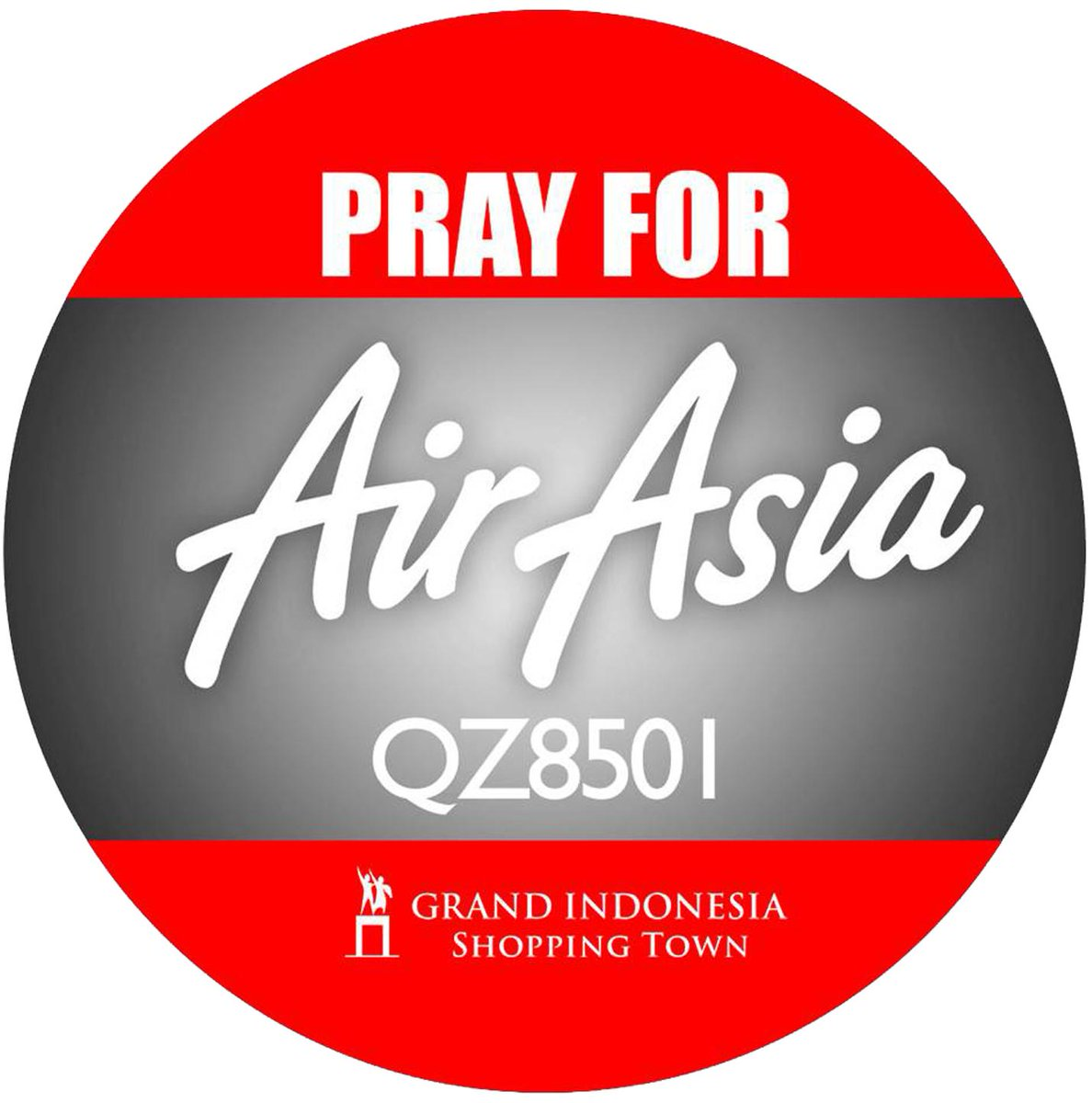 Safe flight. That means a lot. Our deepest condolences to all the victims of #QZ8501 and sending our prayers to them http://t.co/yHVJqHKXvn