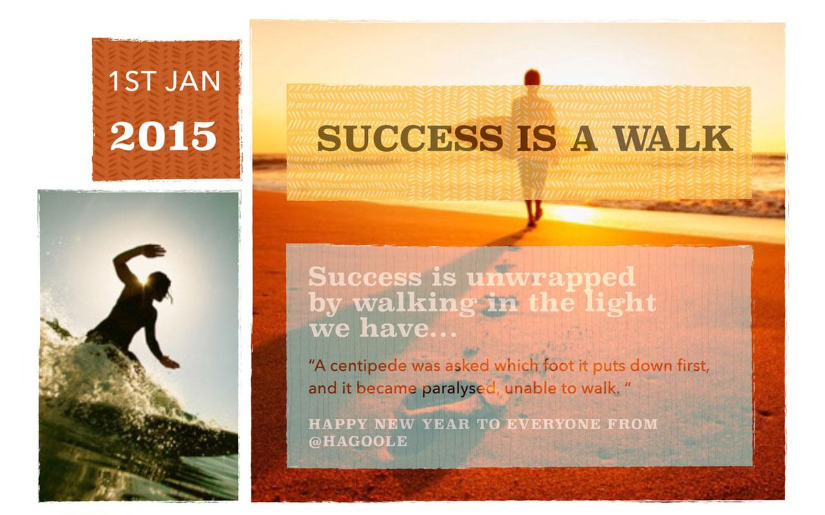#Success is unwrapped by walking in the light we have… Happy New Years Eve everyone... #NYE2015 #startups #theWay http://t.co/57us1nhAzV