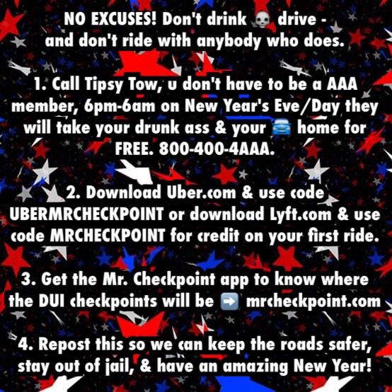 PLEASE RETWEET #NODUI ON NYE! http://t.co/5E3mo0bC2O