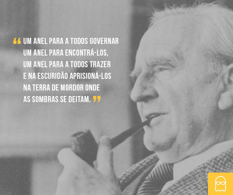 Hoje celebramos o aniversário de J. R. R. #Tolkien, um gênio que escreveu livros que inspiram gerações há décadas. http://t.co/ngnHb9fE9B