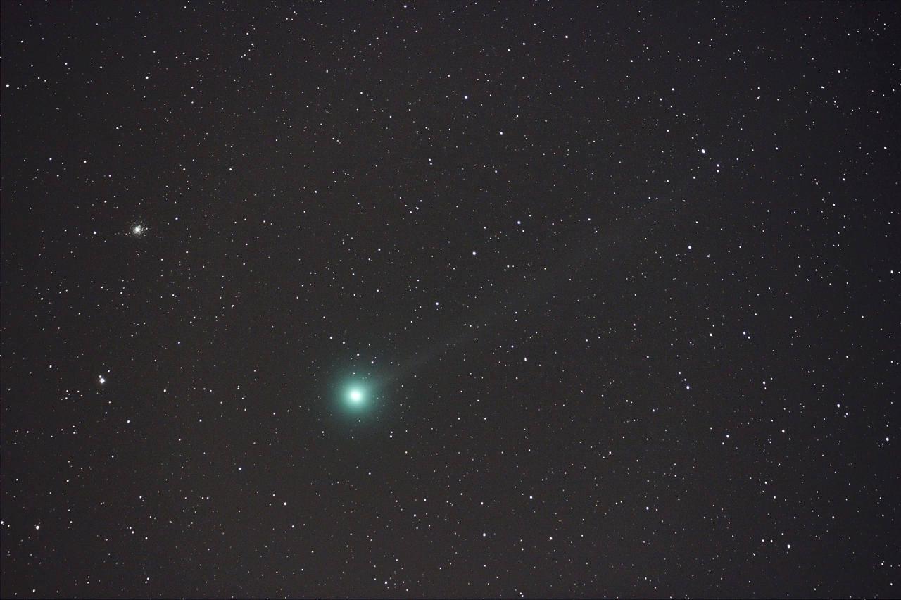 ラブジョイ彗星とM79のランデブー