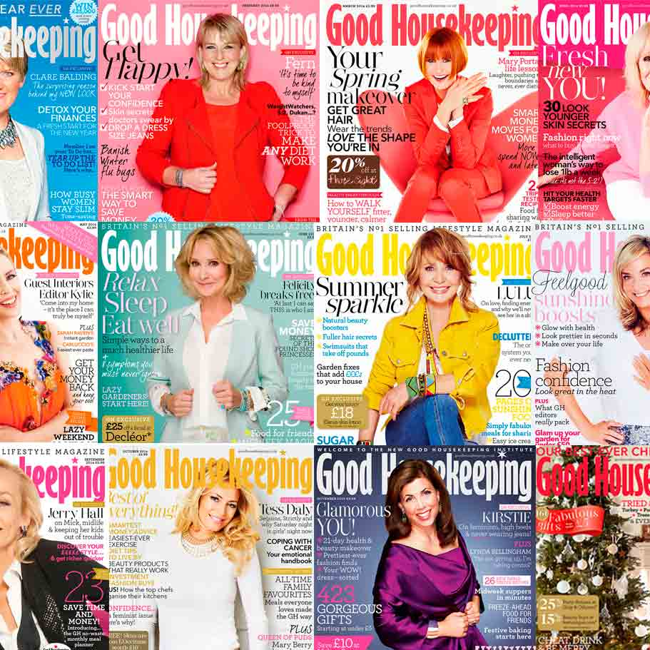 RT @GHmagazine: Inspirational women! 12 months of #GoodHousekeeping magazine in covers - http://t.co/RlG5M9rMGB http://t.co/woI7z4nfMd